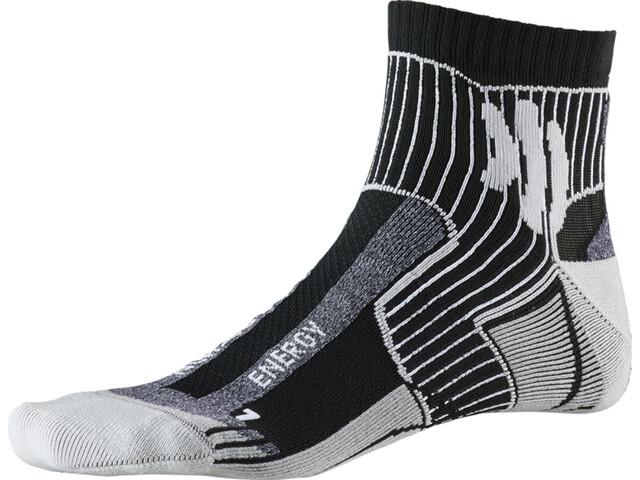 X-Socks Marathon Energy Socks black/anthracite print